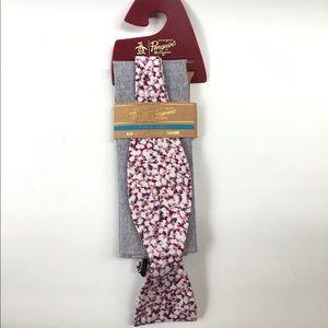 Brand New Penguin Men's Bow Tie & Pocket Square